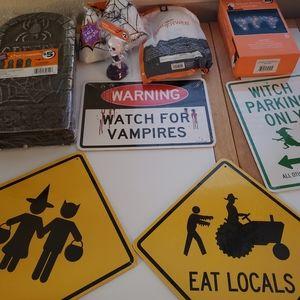 Halloween decor decoration bundle